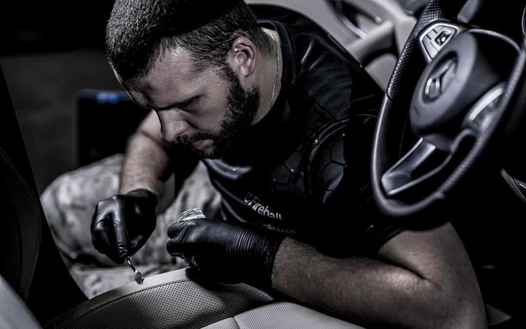 Renowacja skóry samochodowej