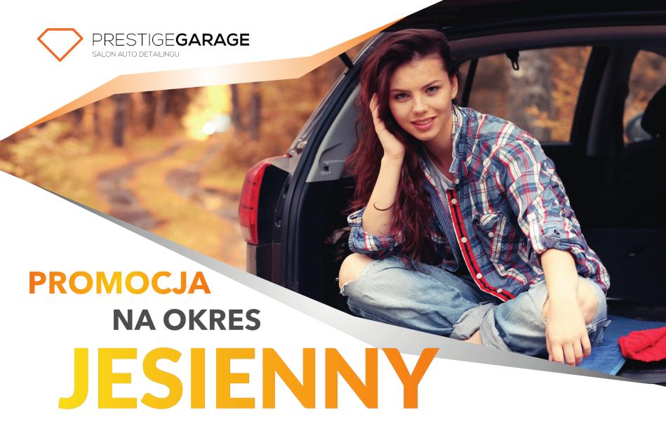 Jesienna promocja w Prestige Garage 2019 - baner