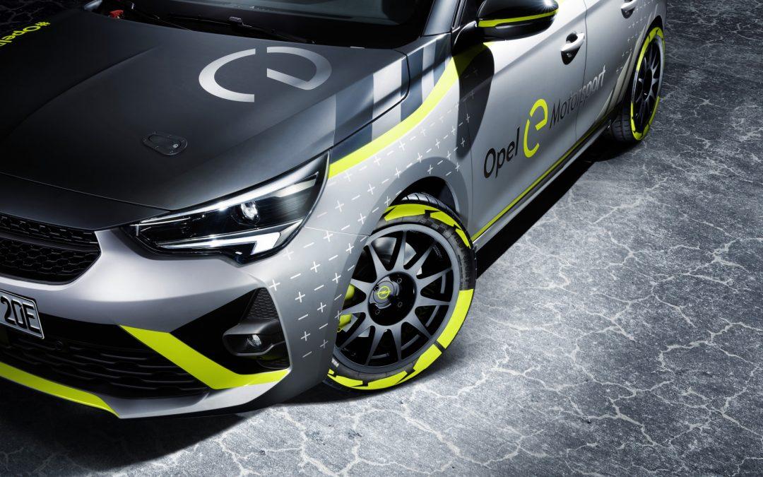 Ekologiczna ofensywa dosięga nawet motorsport – Opel Corsa-e Rally