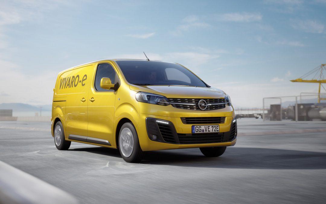 Elektryfikacja pełną parą – Opel Vivaro-e