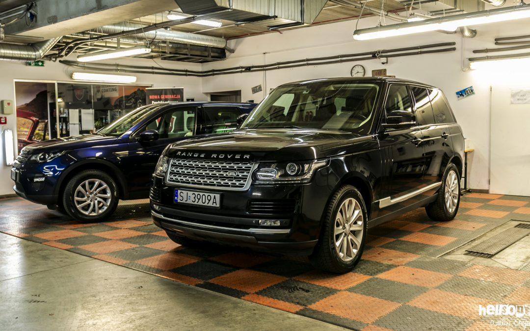 Range Rover Vogue – luksusowo w teren