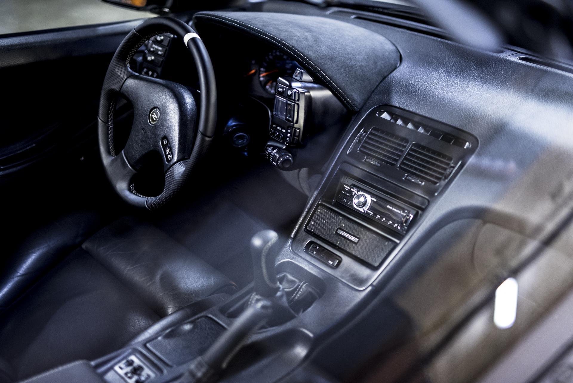 Nissan 300zx wnętrze skóra