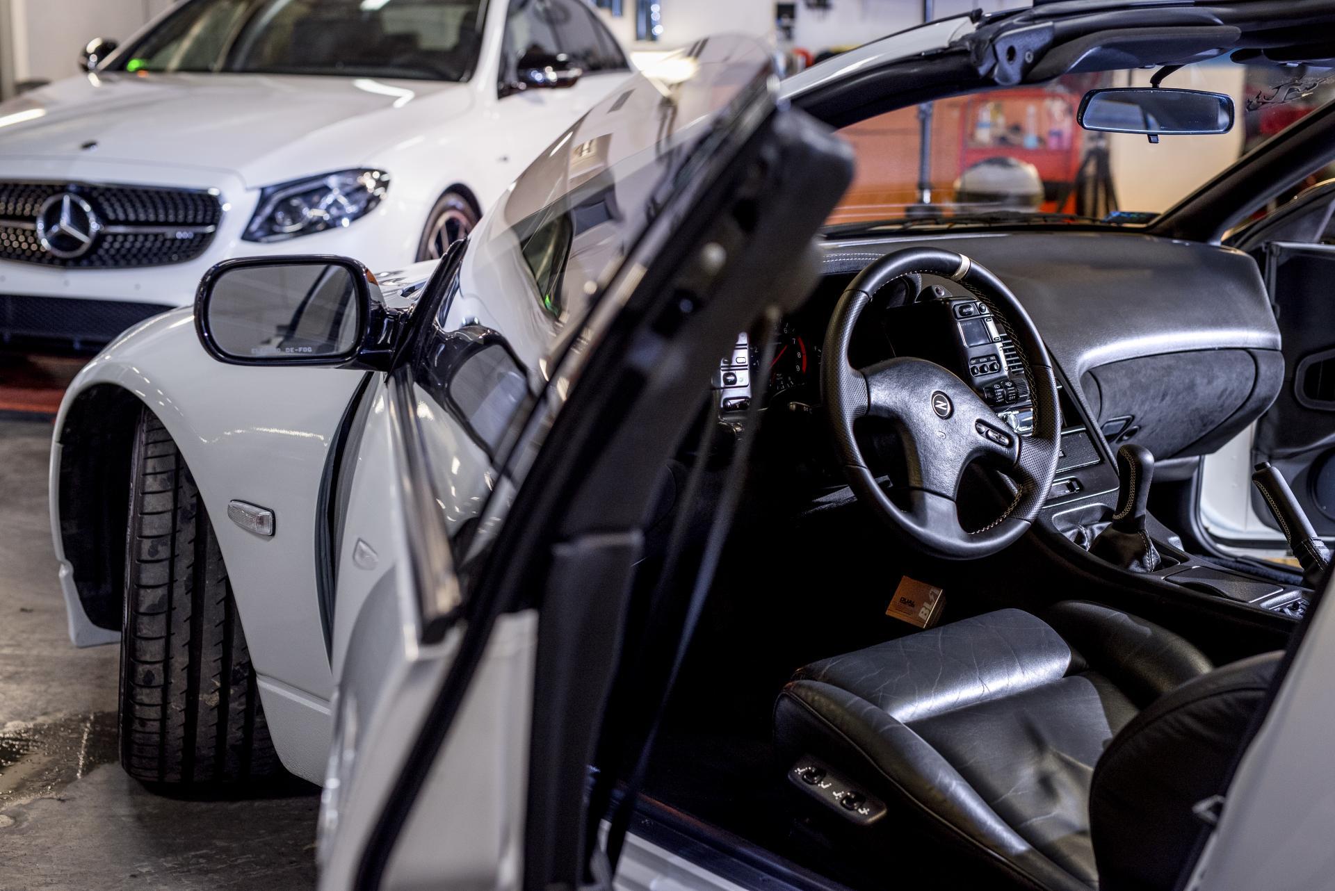 Nissan 300zx wnętrze