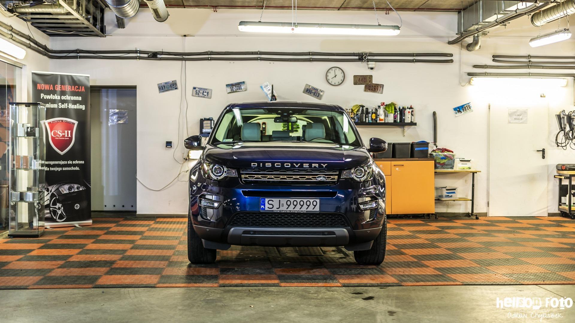 Ranger Rover Discovery - przód