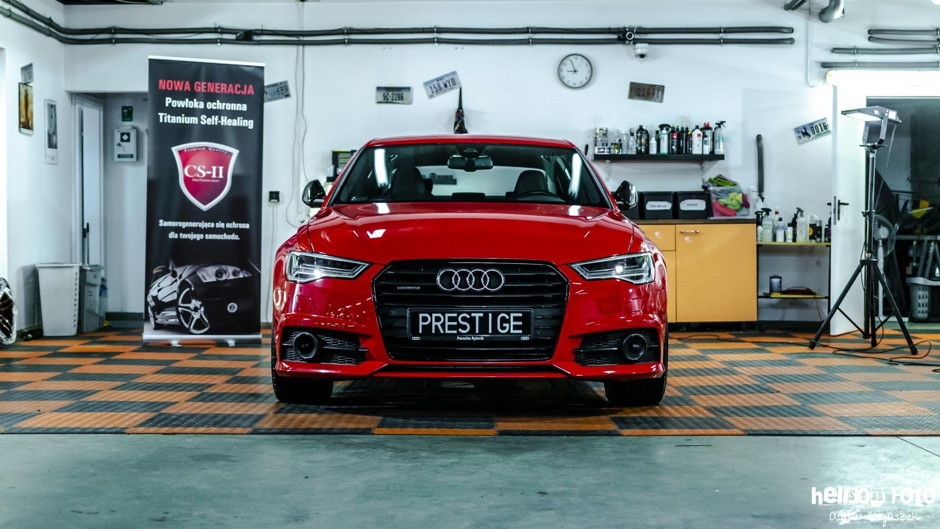 Audi A6 S-line detailing