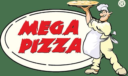 Logotyp Mega Pizza