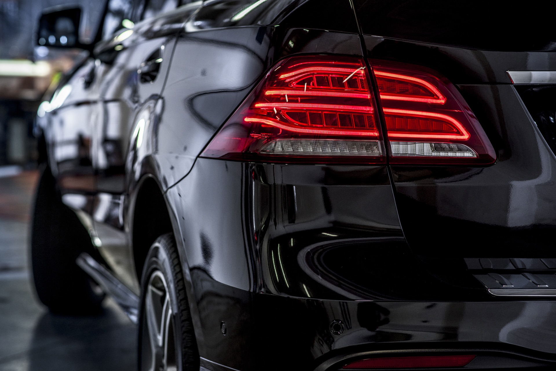 Mercedes-Benz GLE tylna lampa
