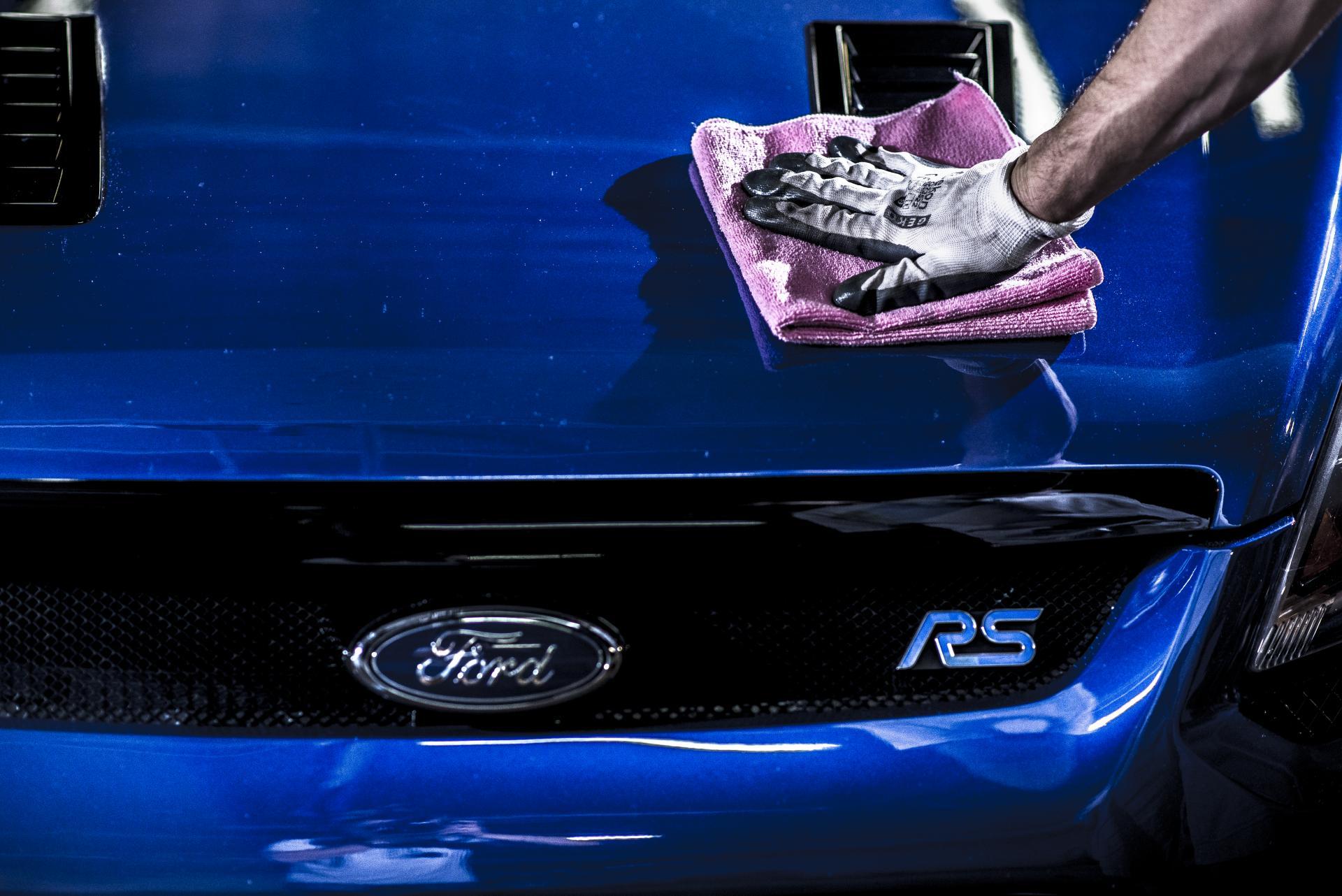 Ford Focus II RS polerowanie