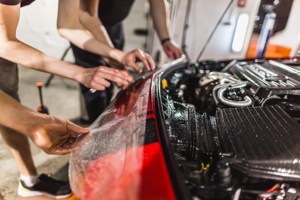 Mercedes-Benz AMG oklejanie