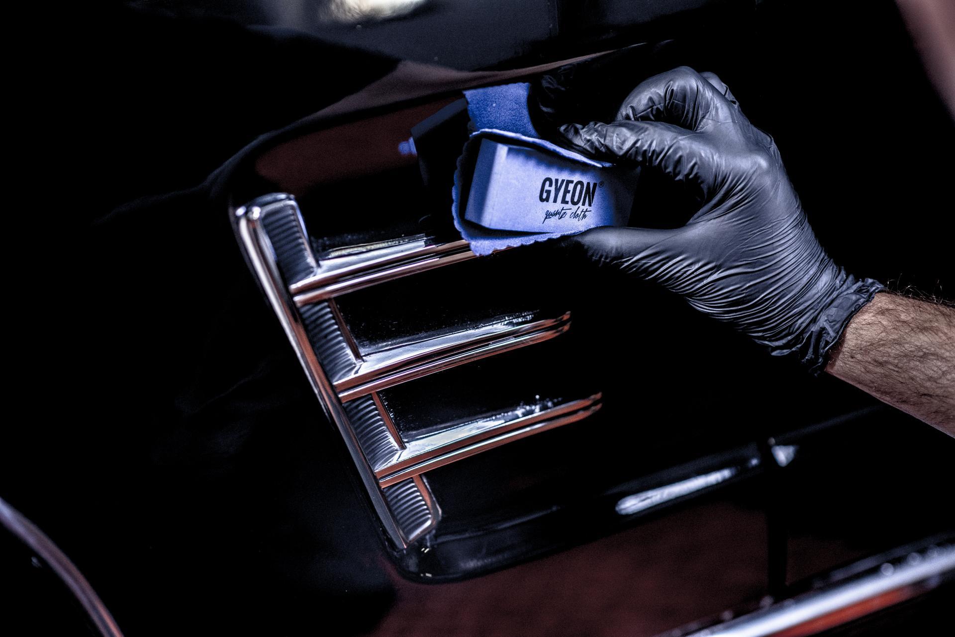 Ochrona lakieru powłokami GYEON