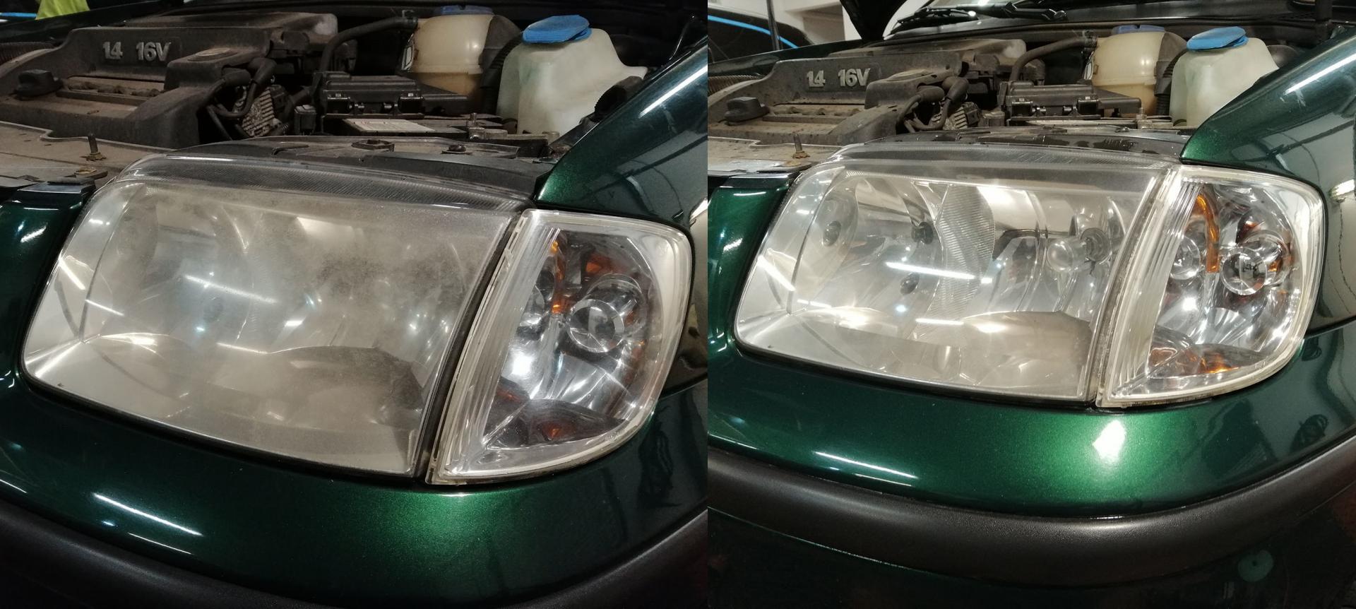 Polerowanie lamp samochodowych prestige