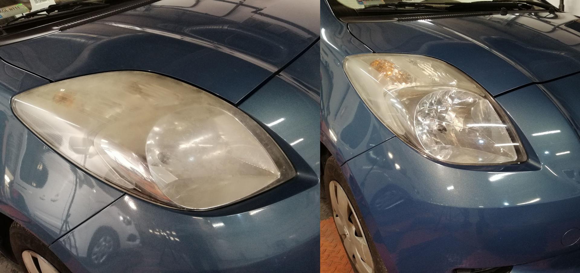 Polerowanie lamp samochodowych prestige garage