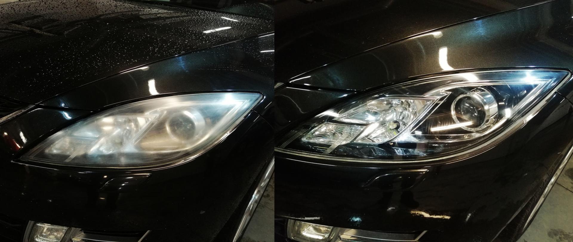 Prestige garage - Polerowanie lamp samochodowych