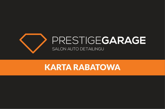 Karta rabatowa Prestige Garage
