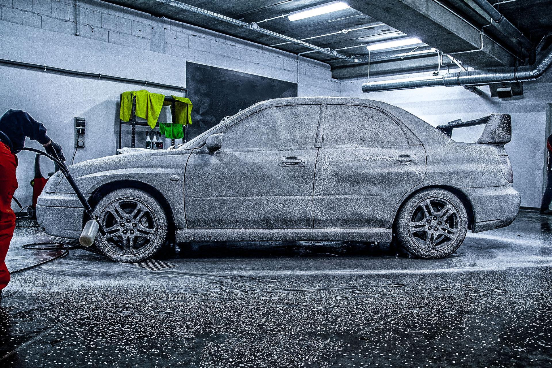 Prestige Garage mycie samochodu