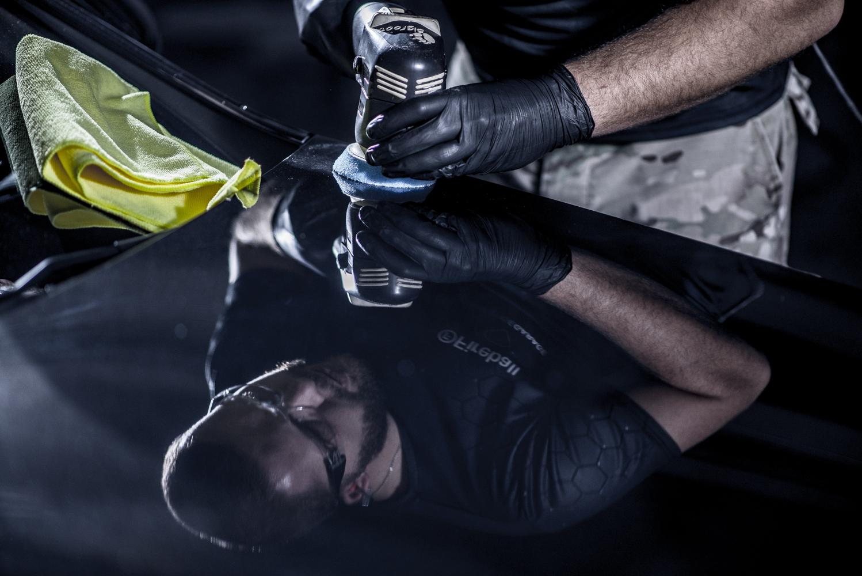 Prestige Garage - Niwelowanie zarysowań lakieru