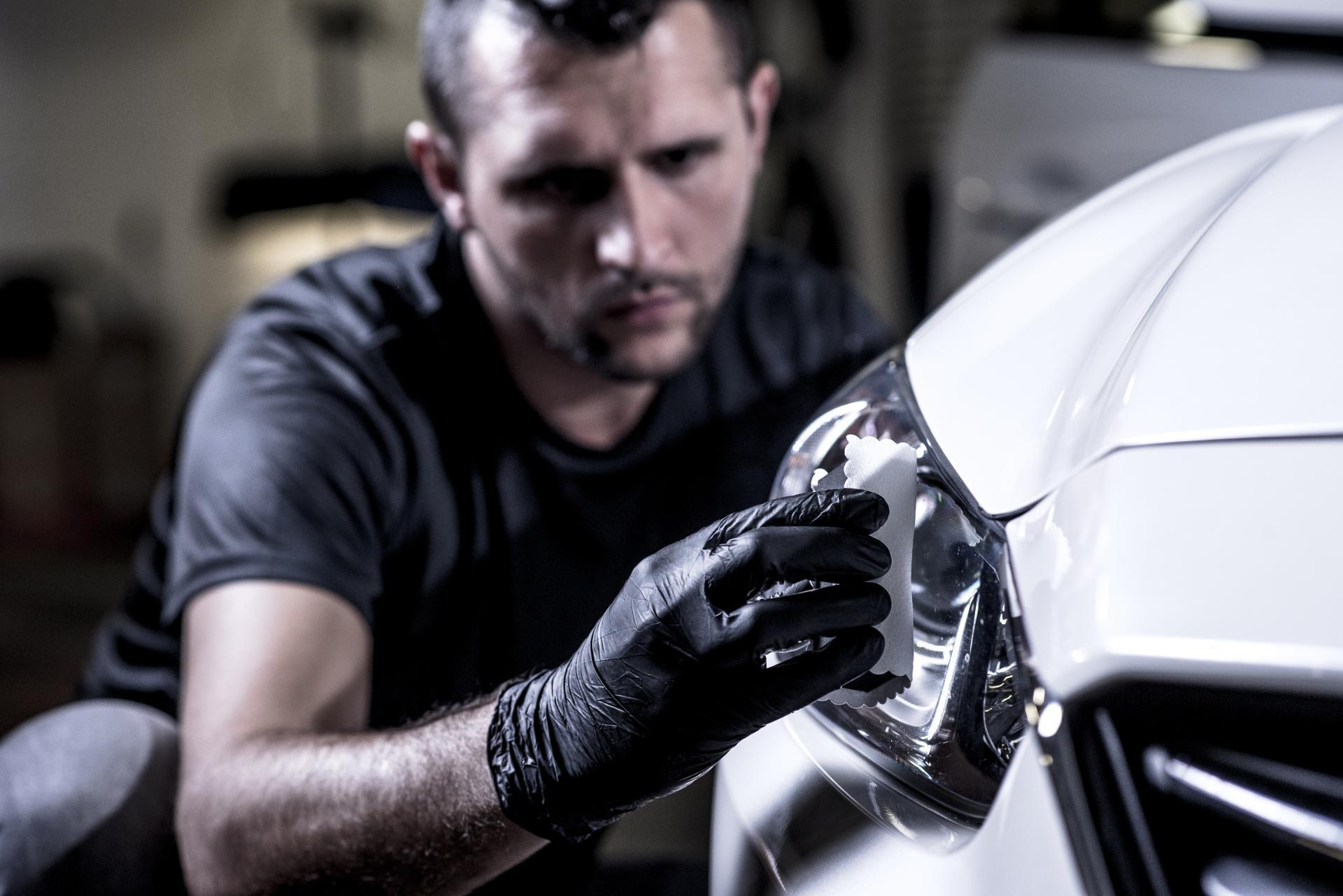 Ochrona reflektorów prestige garage